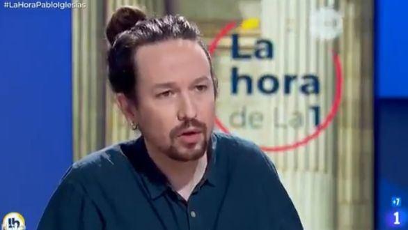 Iglesias, sobre el chat de los militares retirados: 'No me preocupan unos generales franquistas con una copa de más'