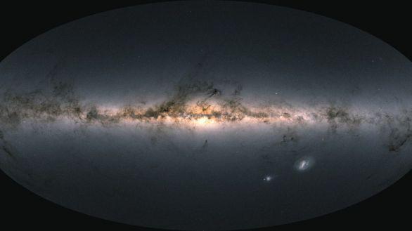 Astrónomos componen el mapa de la Vía Láctea más completo hasta la fecha