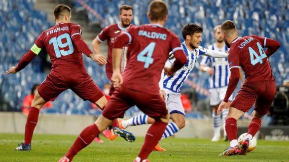 Europa League. El Rijeka complica a la Real Sociedad | 2-2