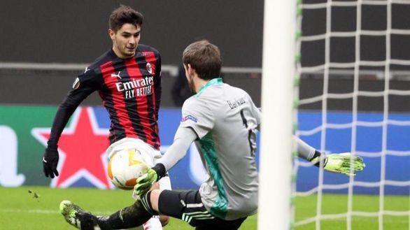 Europa League. Brahim brilla en Milán y Bale se estrena