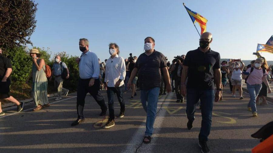 Los presos independentistas se revuelven: