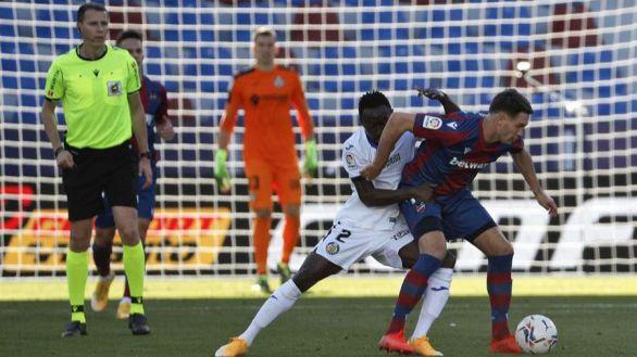 El Getafe toca fondo en el campo del Levante | 3-0