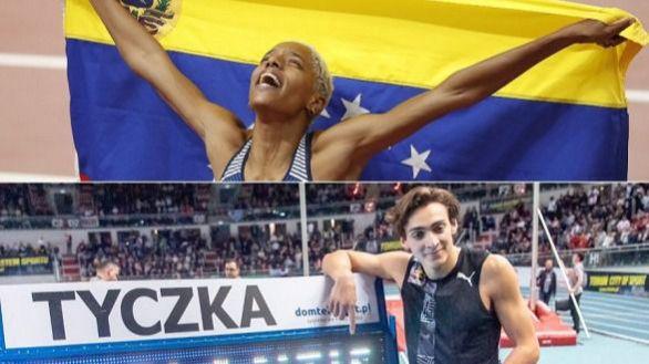 Armand Duplantis y Yulimar Rojas, nombrados mejores atletas de 2020