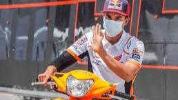 MotoGP. Malas noticias para Márquez: tiene una infección en el húmero tocado