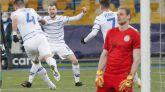 El Dinamo de Kiev se sobrepone a las bajas para llegar a la Liga Europa  1-0
