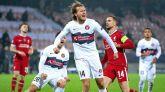 Empate de Liverpool en Dinamarca para despedir el grupo  1-1