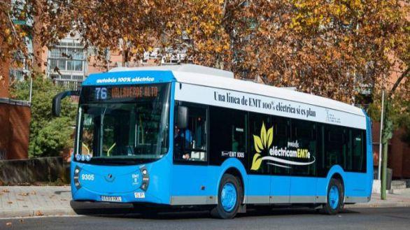Madrid dejará de tener autobuses de gasoil en 2023