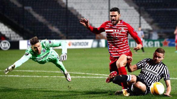 Europa League. El Granada se atasca en Grecia y pasa como segundo | 0-0