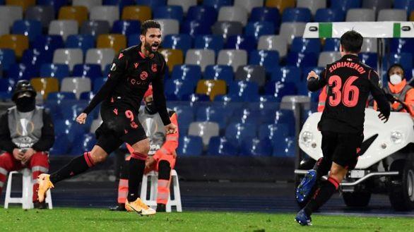 Europa League. La Real se abona a la agonía para pasar de ronda en Nápoles | 1-1