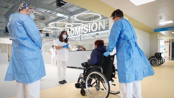 Hospital público Enfermera Isabel Zendal.