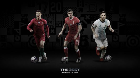Lewandowski, Ronaldo y Messi, candidatos al premio The Best 2020