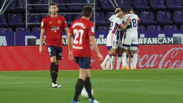 El Valladolid se aferra a Primera y complica a Osasuna | 3-2