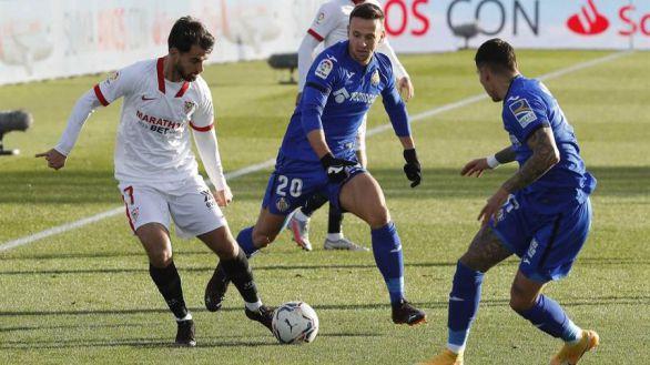 El Sevilla se relanza en Getafe   0-1