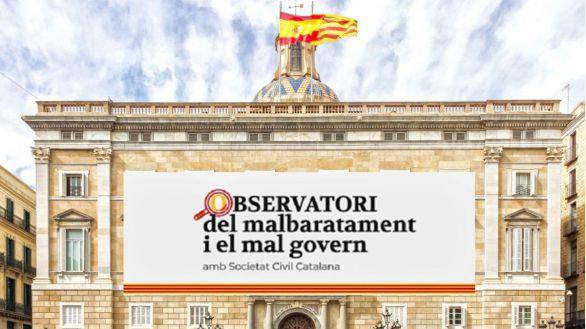 Societat Civil Catalana crea un observatorio para fiscalizar el despilfarro de la Generalidad
