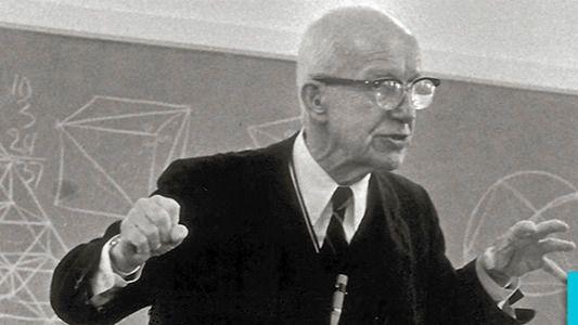 Buckminster Fuller, el visionario que ha sido comparado con Da Vinci