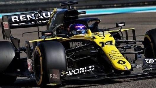 Fórmula Uno. Fernando Alonso ilusiona al volar otra vez con Renault