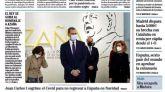Las portadas de los periódicos de este viernes, 18 de diciembre