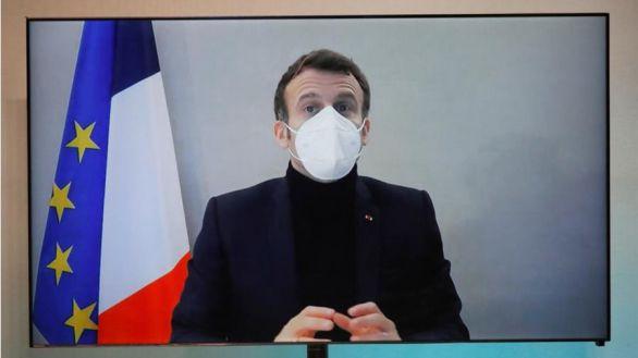 Macron, ya sin síntomas de COVID, concluye su cuarentena