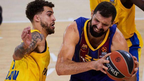 Euroliga. El Barcelona se encalla ante el Maccabi y pierde el liderato |67-68
