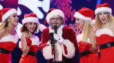 Santiago Segura, uno de los inivtados del especial de 'Tu cara me suena', cantó Jingle Bells.