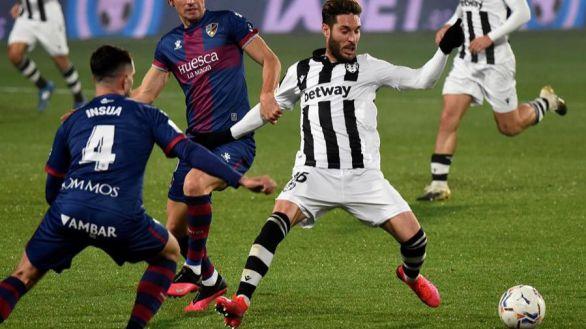 Huesca y Levante no alcanzan a encontrar la salida | 1-1