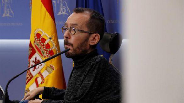 Podemos y los socios de investidura de Sánchez critican el mensaje del Rey