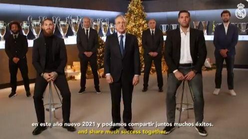 El Real Madrid felicita la Navidad:
