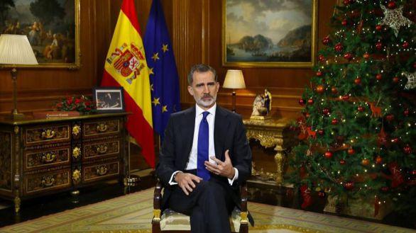 El PSOE y Podemos también discrepan sobre la valoración del discurso del Rey