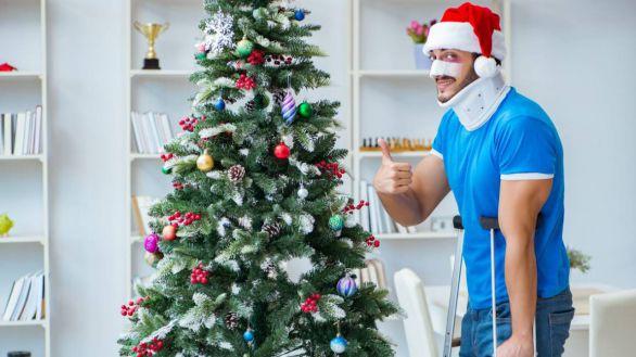 Los accidentes navideños más locos: de árboles incendiados a 'christmas' venenosos
