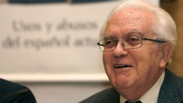 Muere el académico Gregorio Salvador, referente mundial en lexicología
