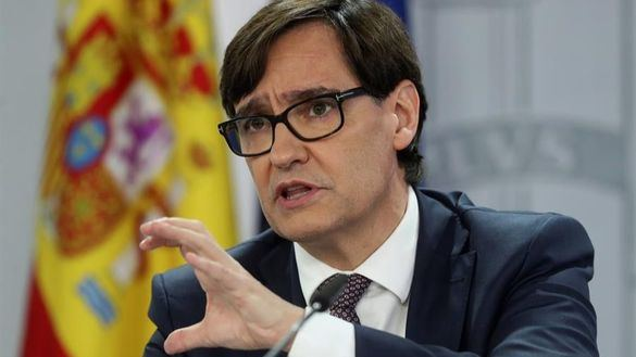 El ministro de Sanidad, Salvador Illa.