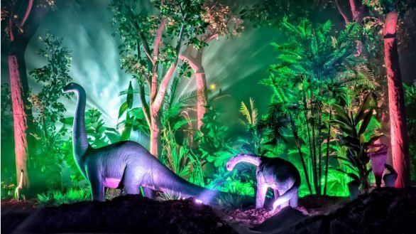 Pasear entre dinosaurios: llega a la Casa de Campo la exposición Saurios