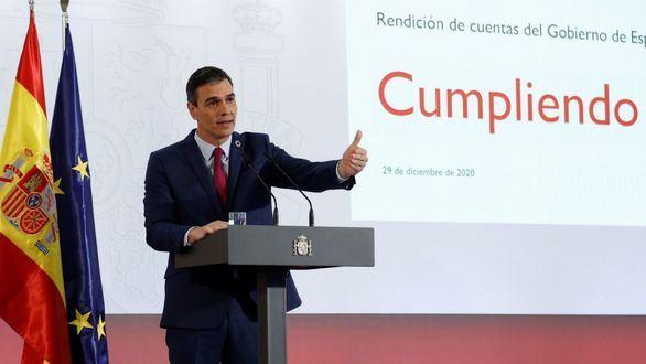 Sánchez anuncia que trabaja con Zarzuela para renovar la Monarquía