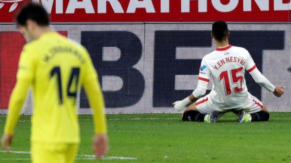 El Sevilla se asienta en Champions tras endosar la segunda derrota al Villarreal |2-0