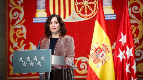 Ayuso acusa a Sánchez de discriminar a Madrid: