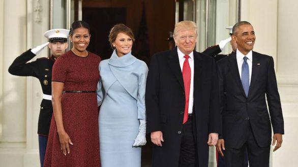 Trump y Michelle Obama, los más admirados en Estados Unidos
