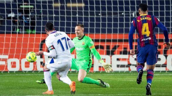 El Eibar festeja los privilegios de Messi en el Barcelona | 1-1