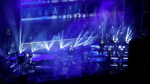 Así fue el concierto con el que Nacho Cano homenajeó a las víctimas del Covid-19
