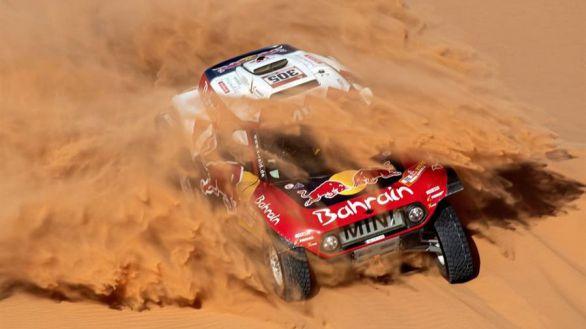 Rally Dakar. Carlos Sainz arranca con el pie cambiado