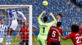 El Osasuna aprovecha la resaca de la Real Sociedad   1-1