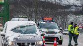 El temporal provoca el cierre de varias carreteras en el norte de España