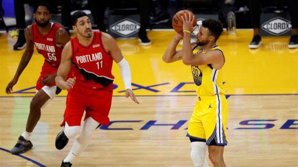 NBA. Epectáculo puro: Curry firma la mejor anotación de su carrera