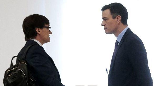 Illa va a Cataluña a negociar con ERC un pacto de Gobierno
