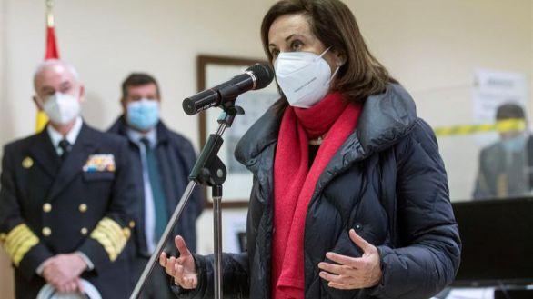 Margarita Robles abre la puerta a que el Ejército ayude con la vacunación