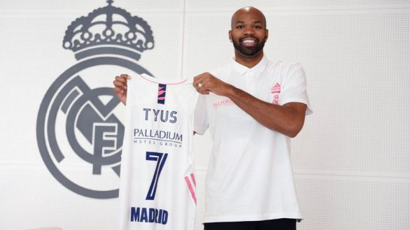 El Real Madrid ficha al pívot Tyus para aliviar el minutaje de Tavares