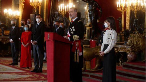 Lea aquí el discurso íntegro de Felipe VI para la Pascua Militar