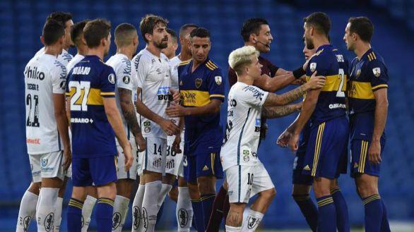 Copa Libertadores. Boca y el VAR doman al Santos y la vuelta decidirá | 0-0