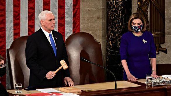 Biden, ratificado como presidente tras el asalto al Capitolio