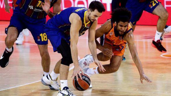 Euroliga. El Barcelona alecciona al Valencia Basket | 89-72