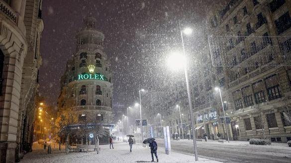 Borrasca Filomena | Imágenes de la impactante nevada